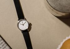 VOID Petite Analogue Watch VO3P BLACK / SILVER. NEW.