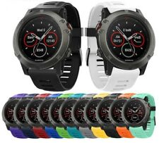 For Garmin Fenix 3/3 HR/5X Silicone Fitness Replacement Wrist Band Strap