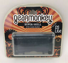 Gear Monkey Clear Super Shell W 9 Game Drawer Nintendo DSi DS Lite GM 5406