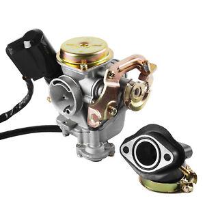 Rex Vergaser 50ccm für Roller Carburetor für Rex RS 400/450/460/GY6 50cc
