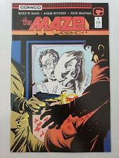 THE MAZE AGENCY #2 (1988) INNOVATION COMICS AMAZING ADAM HUGHES COVER & ART! NM