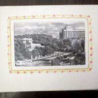 1950's KIEV Soviet Ukraine 40 Sightseeing Photo/ Postcard Album; Киев Фотоальбом