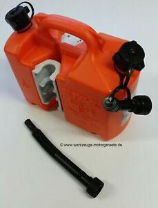 Kombikanister Profi von Stihl , Orange, 0000 881 0113, 5 + 3 Liter , Motorsäge