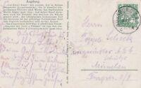 Künstlerkarte Augsburg Goldner Saal Jahr 1925 Frankatur DR Rheinland