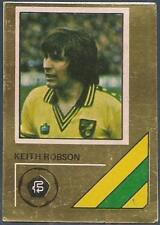 FKS 1978/79 SOCCER STARS GOLDEN COLLECTION- #221-NORWICH CITY-KEITH ROBSON