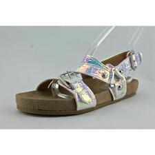 GUESS Damen-Sandalen & -Badeschuhe im Gladiator-Stil aus Synthetik für Kleiner Absatz (Kleiner als 3 cm)