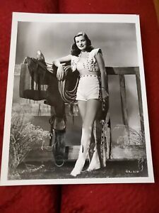ELLA RAINS ACTRESS VINTAGE 8 X 10 PHOTOGRAPH FROM IRVING KLAWS ARCHIVES #D