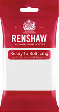 Renshaw Regalice 250g Ready Roll Icing Sugarpaste Fondant Cake Decorating Colour