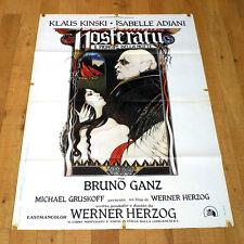 NOSFERATU IL PRINCIPE DELLA NOTTE manifesto poster Klaus Kinski Adjani Herzog