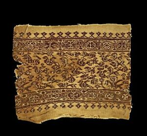 *SC* ACCOMPLISHED WEAVING TEXTILE, BYZANTINE, COPTIC, CA. 4TH.-7TH. AD