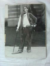Vintage Photo Unusual Man in Hobo Attire Costume 816