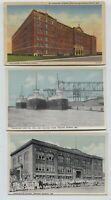 2 1910-1920's era & Linen Indiana Harbor Indiana Postcards