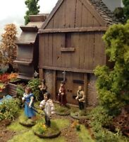28MM PMC GAMES ME31 (PAINTED) Water mill