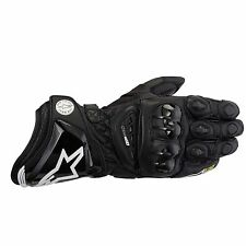 ALPINESTARS GP PRO Black Motorbike Leather Racing Gloves XL RRP £169.99