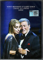 TONY BENNETT & LADY GAGA Cheek To Cheek Live MALAYSIA DVD NEW FREE SHIPMENT