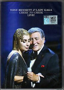 TONY BENNETT & LADY GAGA Cheek To Cheek Live 2014 MALAYSIA DVD NEW REGION - ALL