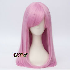 55cm Long Straight Multi Color Heat Resistant Anime Women Girl Cosplay Wig+Cap