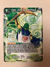 Dragon Ball Super Kami, Ethereal Technique P-154 PR Promo New Mint