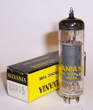 NEW IN BOX SYLVANIA 6RP15 AUDIO OUTPUT TUBE / VALVE - 6BQ5 - EL84 - 7189A