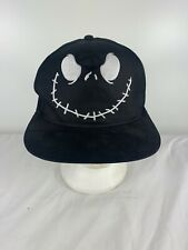 Vintage Nightmare Before Christmas Halloween Snapback Hat Cap RARE Original 90s