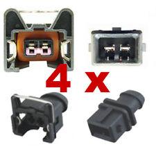 Fuel Injection Connectors - BOSCH EV1 SHORT (4 x SET) injector plug tuning fcc