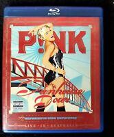 Video DVD - PINK - Funhouse Tour - BLU-RAY - LIKE NEW (LN) WORLDWIDE