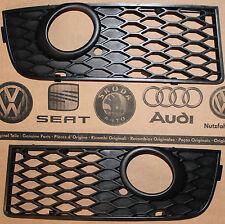 Audi A4 B6 8E original S-Line fog light grill grille front lower grills