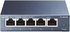 TP-Link - TL-SG105 5 Port Gigabit Ethernet Network Switch - Ethernet Splitter