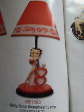 Betty Boop sweetheart lamp