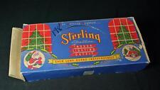 Vintage 1950s Sterling Straitline Lites Multi-Color Christmas Lights