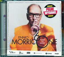 ENNIO MORRICONE 60 Years Of Music (Deluxe Ed) Polish edition CD+DVD NEW