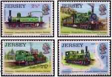 Timbres Trains Jersey 79/82 ** lot 24552