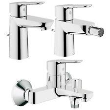 grohe startedge set rubinetteria completa miscelatori bagno ottone cromato nuovo