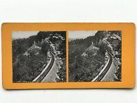 Suisse Chemin da Ferro Fotografia Stereo Vintage Analogica