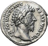 DIONYSOS Marcus Aurelius AR-Denar Rom Mars #LH 2188