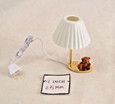 Light - Teddy Bear Table Lamp CK4645 dollhouse miniature 1/12 scale