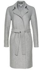 MARC CAIN Collections hochwertiger Mantel Gr.N6/44-46 Walkwolle grau