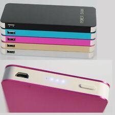 Blue 100000mAh Power Bank Dual USB Battery Portable Charger iPhone Samsung LG