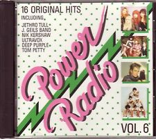 VARIOUS – Power Radio Vol.6 (Sony Music – Germany) DEEP PURPLE, BANGLES, ELO