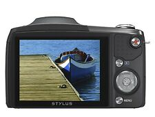 Olympus SZ-17 Digital Camera with 16MP and 24x Zoom and 3-Inch LCDCaseSD4GBCard