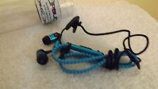 ZIPBUDZ HEADPHONES In Ear Wired Headphones, REMOTE & MIC,  ZIP UP, TANGLE FREE