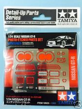 Tamiya 12623 JDM Nissan GT-R R35 Photo Etched Parts Set Metal Mesh Exhasut Tips