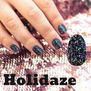 mani3LColorStreet HOLIDAZE Nail Glitter BRAND NEW Holiday New Years RETIRED
