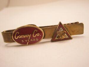 -Convoy Co 5 Year & Moose Vintage LEAVENS CO Tie Bar Clip