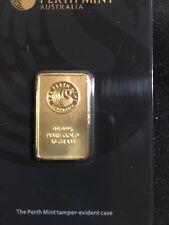 Perth Mint Australia 10gram Gold Bar - 99.99 Fine