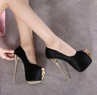 Peep Toe Mens Platform High Heels Pumps Crossdresser Drag Queen Pink Women Shoes