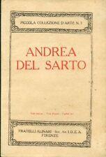 DEL SARTO - BIAGI Luigi, Andrea del Sarto
