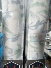 Scott Living Essex Blue Green Self-Adhesive Peel and Stick WallPaper x4
