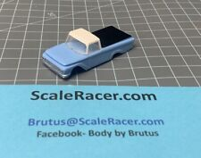 NEW OFFERING- Blue '62 Ford Pick-up Body for Aurora Dash Tjet type Chassis