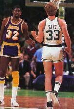 Nba Larry Bird Magic Johnson Poster Photo Nba Basketball Print |2 x 3 Feet| 1